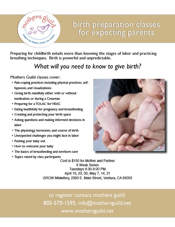 Childbirth Preparation Classes